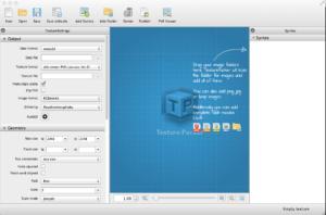 TexturePacker Default Screen
